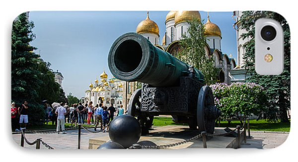 Czar Cannon Of Moscow Kremlin - Featured 3 Phone Case by Alexander Senin