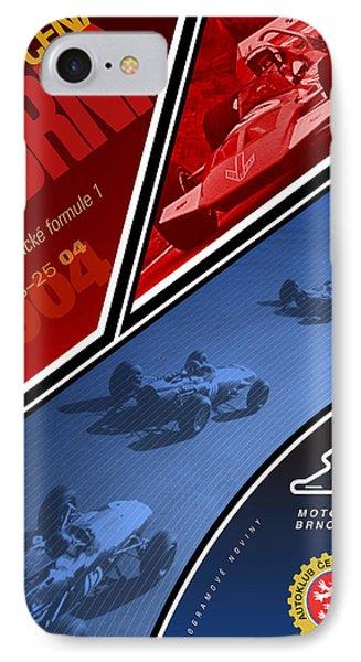 Czech Republic Historic Grand Prix IPhone Case by Georgia Fowler
