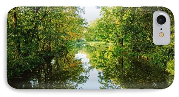 D And R Canal  IPhone Case by Debra Fedchin
