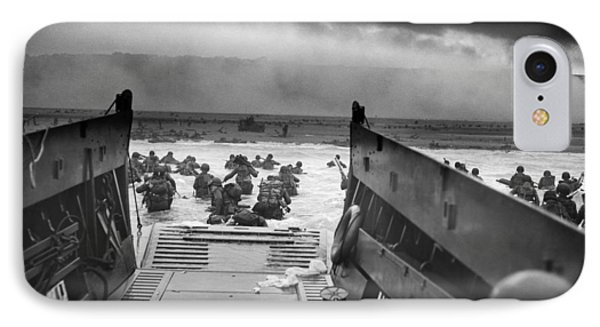 D-day Landing IPhone Case