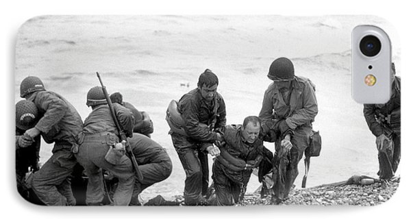 D-day Landings IPhone Case by Us Army