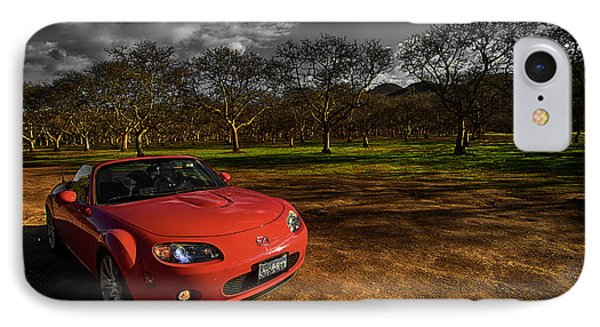 IPhone Case featuring the photograph D-mx5 by Jason Abando