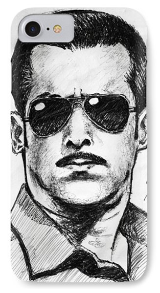 Salman Khan IPhone Case by Salman Ravish