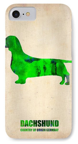 Dachshund Poster 1 IPhone Case
