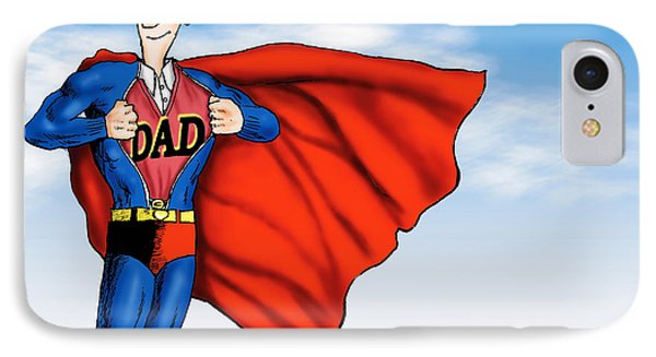 Daddys Home Superman Dad IPhone Case
