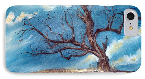 IPhone Case featuring the painting Daddy's Tree by Meaghan Troup