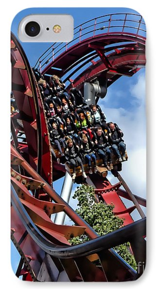 Daemonen - The Demon Rollercoaster - Tivoli Gardens - Copenhagen IPhone Case