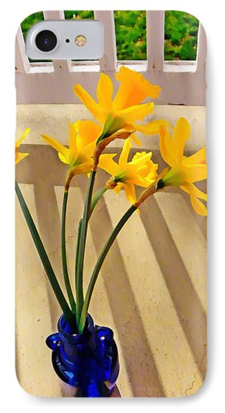 Daffodil Boquet Phone Case by Chris Berry