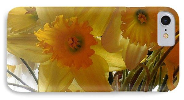 Daffodil Bouquet IPhone Case by Karen Molenaar Terrell