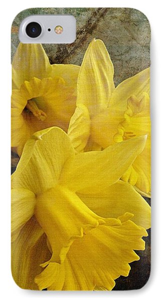IPhone Case featuring the photograph Daffodil Burst by Diane Alexander