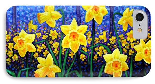 Daffodil Dance IPhone Case by John  Nolan