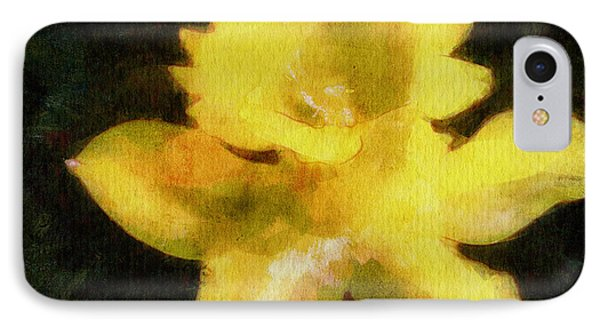 Daffodil IPhone Case by Greg Collins