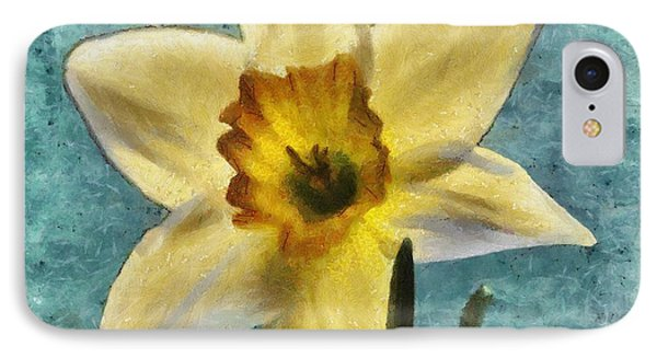 Daffodil Phone Case by Jeff Kolker