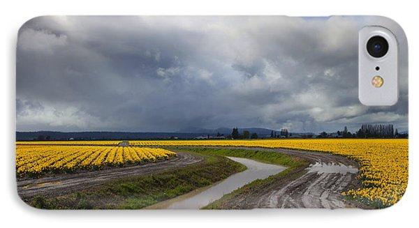 Daffodil Lane Phone Case by Mike  Dawson