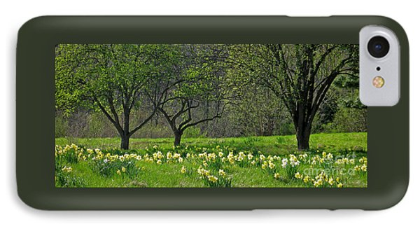 IPhone Case featuring the photograph Daffodil Meadow by Ann Horn