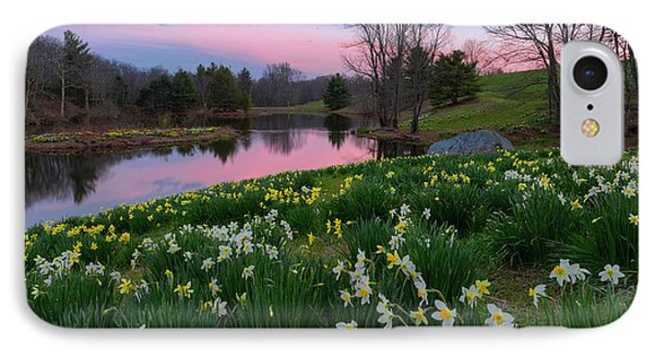 Daffodil Sunset IPhone Case by Bill Wakeley