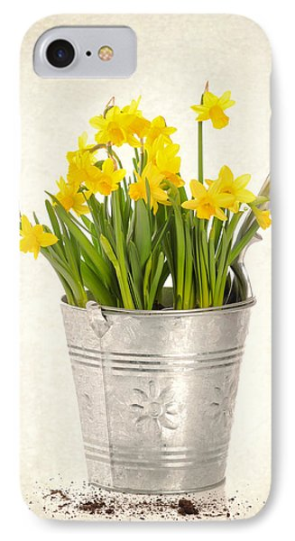 Daffodils Phone Case by Amanda Elwell