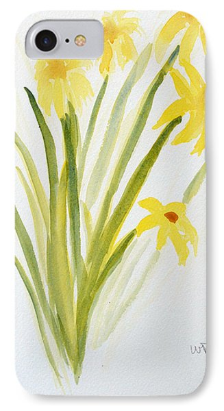 Daffodils For Mothers Day Phone Case by Wade Binford