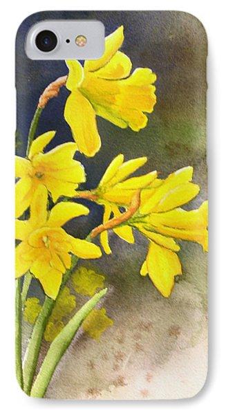 Daffodils Phone Case by Rick Huotari
