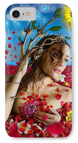 Dafne   Hit In The Physical But Hurt The Soul IPhone Case by Alessandro Della Pietra