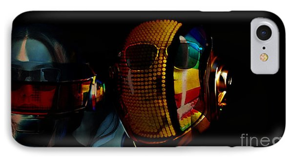 Daft Punk Pharrell Williams  IPhone Case