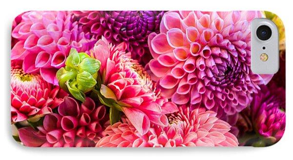Dahlia Bouquet Number 2 IPhone Case