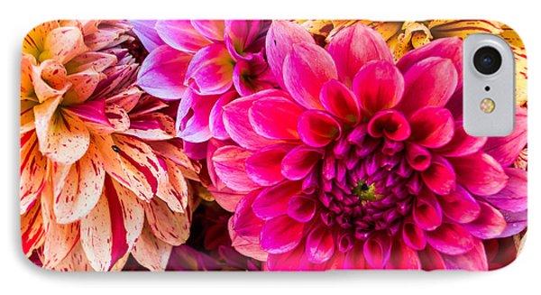Dahlia Bouquet Number 3 IPhone Case