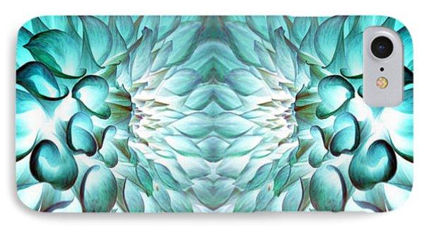Dahlia Flower Art IPhone Case by Sumit Mehndiratta