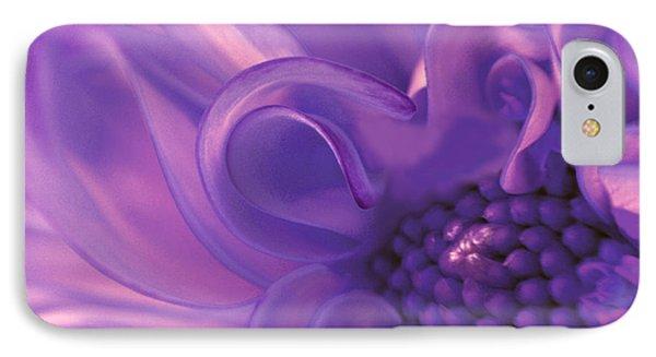 Dahlia Swirl Lavender IPhone Case