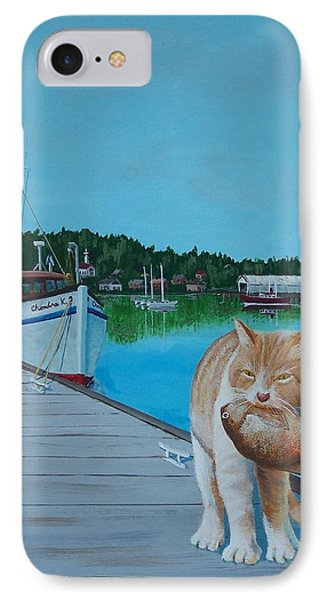 Daily Catch IPhone Case by Gene Ritchhart