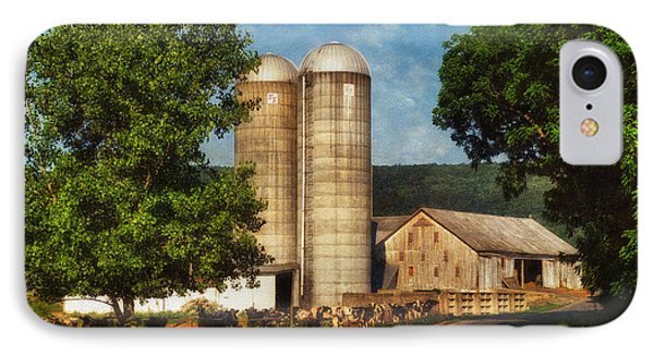 Dairy Farming Phone Case by Lois Bryan