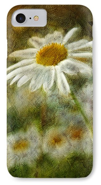 Daisies ... Again - P11at01 Phone Case by Variance Collections