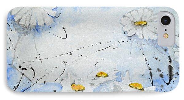 Daisies - Flower Phone Case by Ismeta Gruenwald