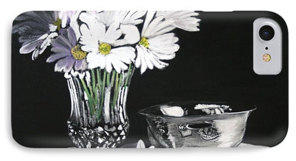 Daisies With Lace IPhone Case