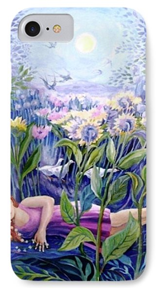 Daisy Chain IPhone Case by Trudi Doyle