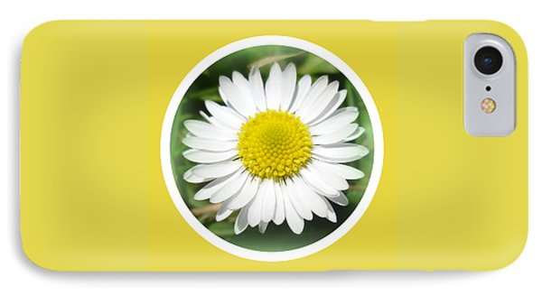 Daisy Closeup Phone Case by The Creative Minds Art and Photography