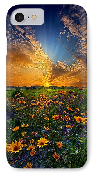 Daisy Dream IPhone Case by Phil Koch