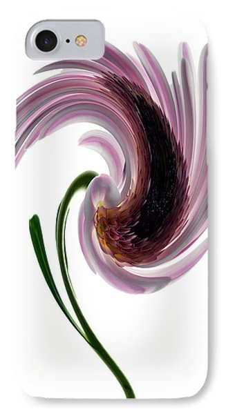Daisy In A Twirl Phone Case by Terence Davis