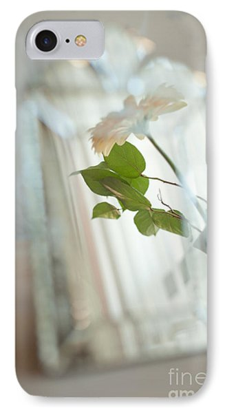 IPhone Case featuring the photograph Daisy In The Mirror by Aiolos Greek Collections