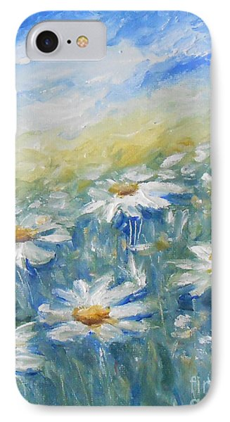 Daisies IPhone Case by Jane  See