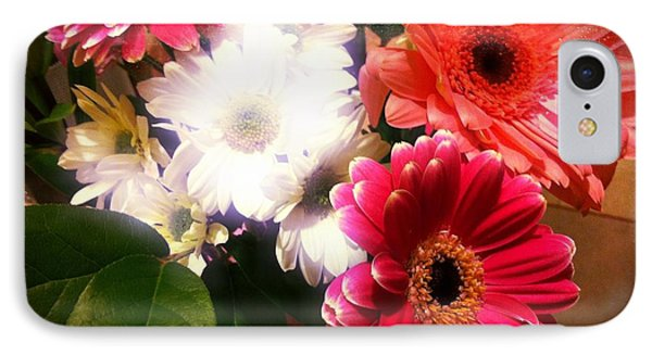 IPhone Case featuring the photograph Daisy January by Meghan at FireBonnet Art