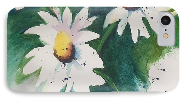 Daisy Print IPhone Case