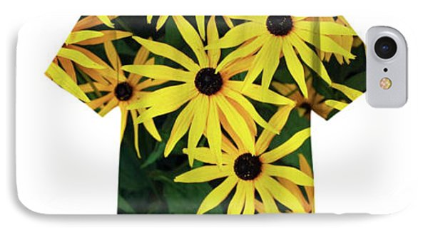 IPhone Case featuring the photograph Daisy Tee by Bill Thomson