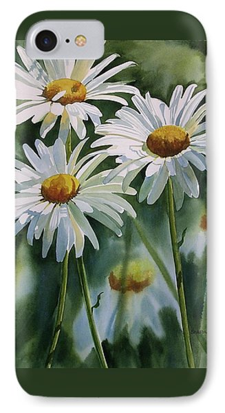 Daisy Trio IPhone Case by Sharon Freeman