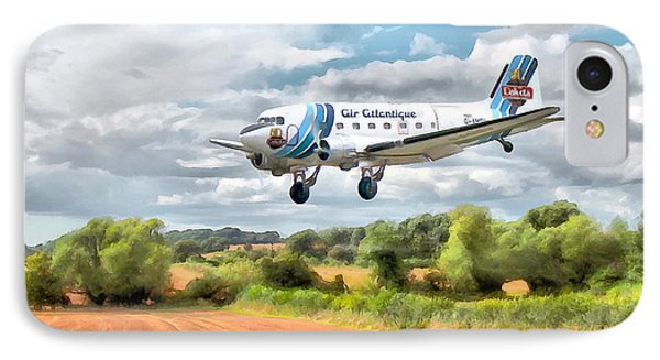 Dakota - Cleared To Land IPhone Case by Paul Gulliver
