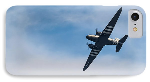 IPhone Case featuring the photograph Dakota D-day Markings by Scott Lyons