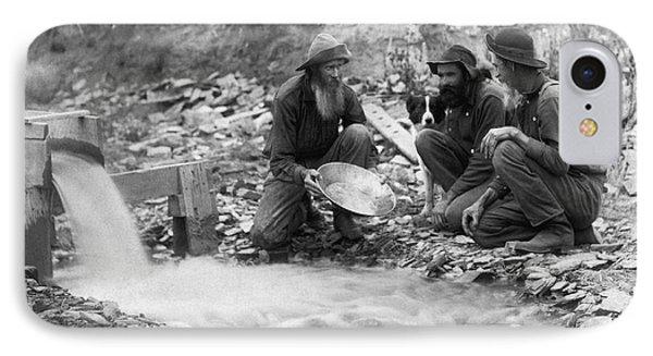 Dakota Territory Gold Miners IPhone Case by John C. H. Grabill