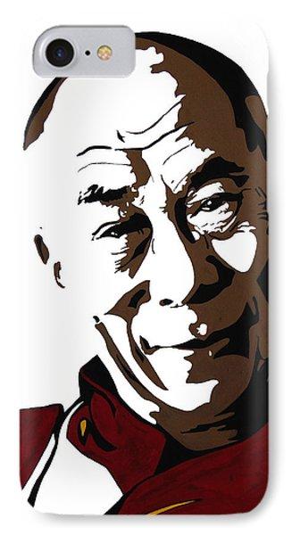 Dalai Lama IPhone Case by Nancy Mergybrower