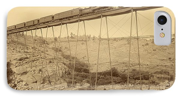 Dale Creek Bridge Union Pacific Phone Case by Getty Research Institute