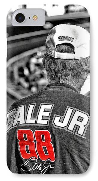 Dale Jr Phone Case by Karol Livote